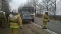 Авария на трассе Тула-Липки. 17.11.2014, Фото: 1