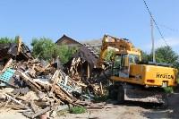 Снос домов в Плеханово. 23 июня 2016, Фото: 10