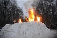 В ЦПКиО сожгли чучело зимы, Фото: 23