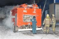 Пожар на складе ОАО «Тулабумпром». 30 января 2014, Фото: 11