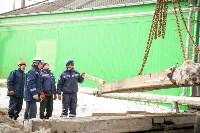Демонтаж бетонных плит на Ханинском проезде, 10.02.2016, Фото: 6