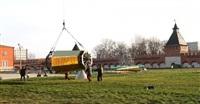 Сборка часового пояса колокольни Тульского Кремля, Фото: 3