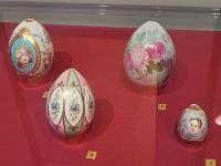 В Туле открылась выставка старинных фарфоровых пасхальных яиц, Фото: 2