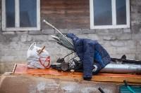 В Плеханово убирают незаконные строения, Фото: 8