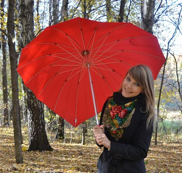"""Не просто зонт, а """"автоматический подниматель настроения"""":)"""