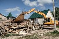 Плеханово, итоги дня: В таборе принудительно снесли первые 10 домов, Фото: 14