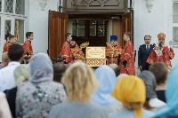 В Тульскую область прибыл ковчег с мощами новомучеников и исповедников Российских, Фото: 45