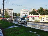 В Пролетарском районе Тулы затопило улицы и дворы: вода хлещет из колодцев, Фото: 6