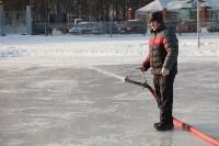 Инспектирование катка в Щёкино. 29.12.2014, Фото: 7
