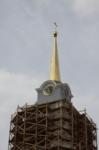 Установка шпиля на колокольню Тульского кремля, Фото: 47