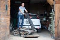 Туляк Виталий Галеев придумал сегвей на гусеницах, Фото: 1