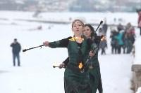 Как туляки провожали зиму на набережной Упы, Фото: 111