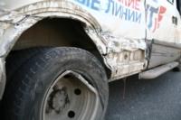 Авария на повороте на Косую Гору: микроавтобус и грузовик, Фото: 15