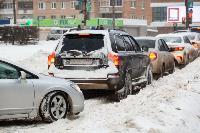 Последствия снежного циклона в Туле, Фото: 2