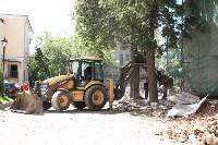 Груздев инспектирует строительство бассейна на Гоголевской. 3.08.2015, Фото: 5