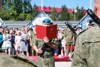 Командиру 106-й гвардейской воздушно-десантной дивизии вручено Георгиевское знамя, Фото: 14