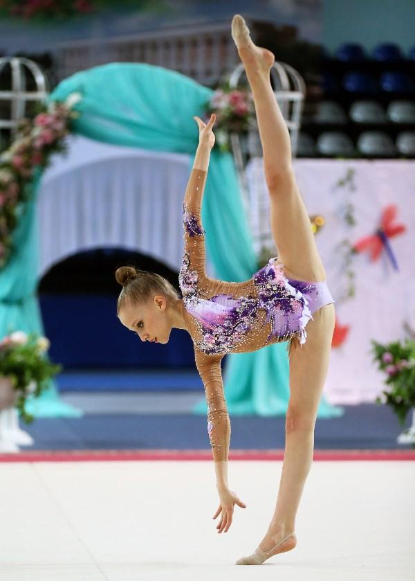 Художественная гимнастика. Грация и труд, красота и терпение...