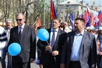 Тульская Федерация профсоюзов провела митинг и первомайское шествие. 1.05.2014, Фото: 49