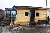 Пожар в цыганском поселении в Плеханово, Фото: 5