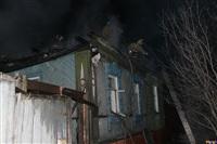 В поселке Октябрьский сгорел дом., Фото: 4