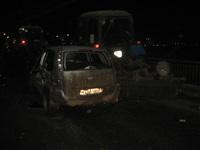 В центре Тулы легковушка врезалась в трактор коммунальщиков, Фото: 1