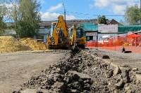 В посёлке Южный стартовали работы по обустройству ливневой канализации, Фото: 3