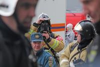 Тульские пожарные провели соревнования по бегу на 22-этаж, Фото: 14