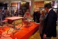 Ф Москве открылась выставка изделий тульских оружейников, Фото: 7