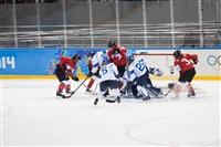 Женский хоккейный матч Канада-Финляндия. Зимняя Олимпиада в Сочи, Фото: 23