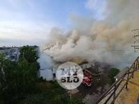 Пожар в Щекино, Фото: 11