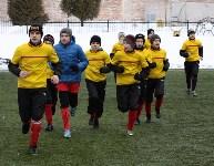 """Матч """"Тула""""-""""Кашира"""" в Новомосковске. 31.01.2015, Фото: 42"""
