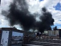 Загорелся недостроенный ТЦ на Красноармейском проспекте, Фото: 12