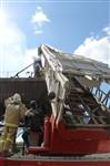Пожар на хлебоприемном предприятии в Плавске., Фото: 6