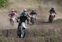 Юные мотоциклисты соревновались в мотокроссе в Новомосковске, Фото: 45