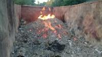 В Тульской области незаконно сжигали московский мусор, Фото: 6