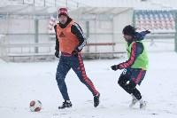 «Арсенал» готовится на снежном поле к игре против «Тосно», Фото: 23