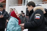 Владимир Груздев в Белевском районе. 17 декабря 2013, Фото: 8