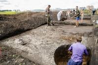 Раскопки на берегу Упы, Фото: 3