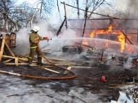 Пожар в Донском днём 29 декабря, Фото: 1