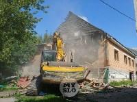 В Плеханово вновь сносят незаконные дома цыган, Фото: 23