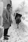 Зимний день в Туле. На фото Альберта Зорина мужчина так похож на поэта Сергея Есенина!, Фото: 1