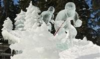 Ледяные скульптуры, Фото: 14