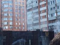 Загорелся недостроенный ТЦ на Красноармейском проспекте, Фото: 13