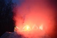 В ЦПКиО сожгли чучело зимы, Фото: 18