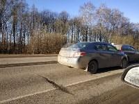 На автодороге «Тула — Новомосковск» столкнулись пять машин, Фото: 3