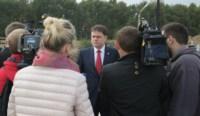 Владимир Груздев посетил строительную площадку микрорайона «Новая Тула», Фото: 10