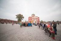Средневековые маневры в Тульском кремле. 24 октября 2015, Фото: 166