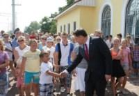 Открытие железнодорожной станции в Ясногорске, Фото: 2