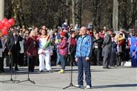 Первый этап эстафеты олимпийского огня: Пролетарский район, Фото: 5