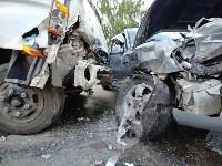 Двойная авария в Пролетарском районе Тулы, Фото: 4